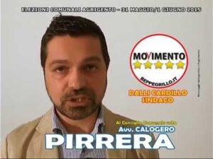 Favara – Calogero Pirrera si dimette dalla carica di vicepresidente del Consiglio comunale