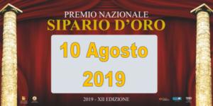 Tutto pronto per il premio nazionale Sipario D'Oro 2019. Ecco i premiati