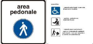 Area pedonale permanente in parte di piazza Cavour e piazza Vespri, nei fine settimana in piazza Cairoli e vie limitrofe