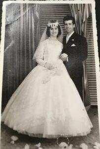 5 aprile 1961 Matrimonio Lo Bello-Piscopo